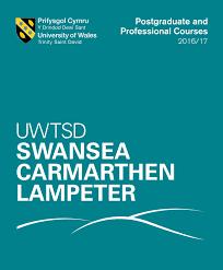 uwtsd postgraduate prospectus 2016 u0026 17 by university of wales