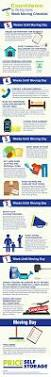 infographic 5 week moving checklist live uncluttered blog