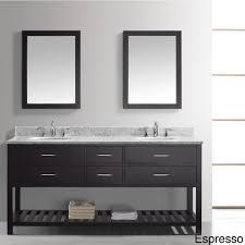 60 inch espresso bathroom mirror vanity decoration