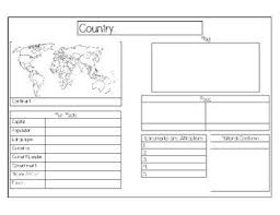 country report template middle school best 25 country report project ideas on country
