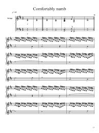 Pink Floyd Comfortably Numb Lyrics And Chords Comfortably Numb Pdf