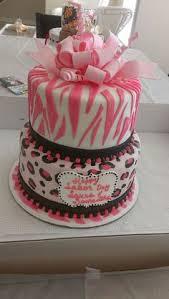 zebra print baby shower cakes google search fondant cake ideas