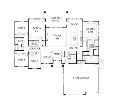 custom home floor plans floor plan details the patterson boise custom home builder