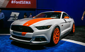 mustang design seven would be few ford showing 8 modified mustangs at sema