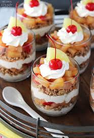 pineapple upside down trifles life love and sugar