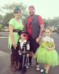 halloween family theme costumes peter pan pirate captain hook