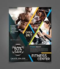 Fitness Flyer Template Free advertising flyers search planet fitness