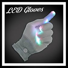 light up wearable battery operated led glow products