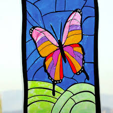 Kids Stained Glass Craft - 25 beautiful stained glass crafts for kids glass craft happy