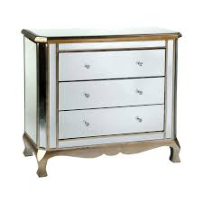 Mirrored Furniture Bedroom by Mirrored Chest Of Drawers Gold Trim Venetian Furniture Bedroom