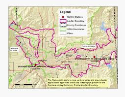 Spokane Wa Map Ecoconnect Protecting Spokane River Flow Provides For The Future