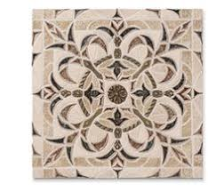 Tile Medallions For Kitchen Backsplash by Shop 12 1 2 X 12 1 4 Iota Thistle Seed Polished Stone Tile In