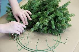 christmas wreaths to make make your own wreath kit christmas wreath diy gift