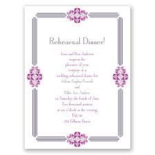 Dinner Invitation Cards Rehearsal Dinner Invitations When To Send Dhavalthakur Com