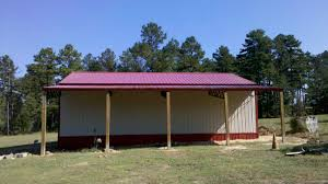 pole barns need metal 30 x 40 enclosed pole barn with lean to 7 240 00