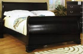 innovative black sleigh bed queen with black queen sleigh bed