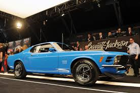 barrett jackson 2012 1970 ford mustang boss 429 sells for