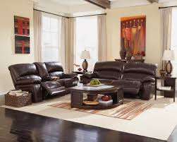 ashley furniture home theater seating damacio dark brown 2 seat power reclining sofa from ashley