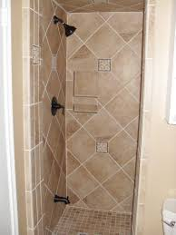 Bathroom  Bathroom Shower Stall Tile Designs With Half Wall - Bathroom shower stall tile designs
