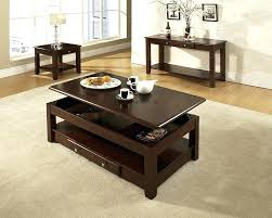 Cherry Wood End Tables Living Room Homelegance Mariacarla End Table In Marble Top Cherry Cherry