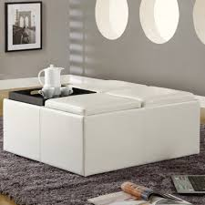 Large Leather Ottoman Furniture Large Ottoman For Large Space Living Room Design