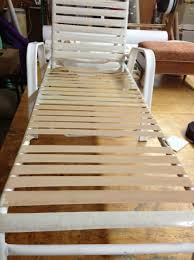Vinyl Straps For Patio Furniture Repair Chair Best Home Design
