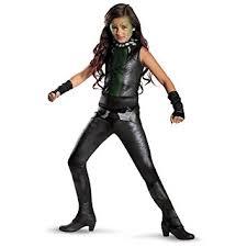 gamora costume guardians of the galaxy marvel deluxe gamora child costume s 4 6x