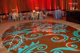 floor decor custom seamless gold and aqua oval floor