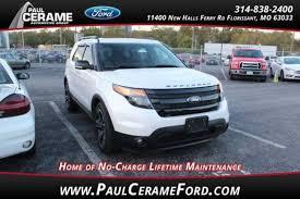 paul cerame ford used 2014 ford explorer for sale florissant mo1fm5k8gt8egc06188