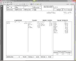 6 pay stubs freeagenda template sample agenda template sample
