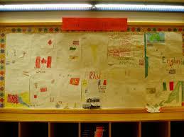 World Map Bulletin Board by Un Day