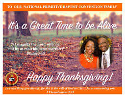 thanksgiving usa november 2015 national primitive baptist convention