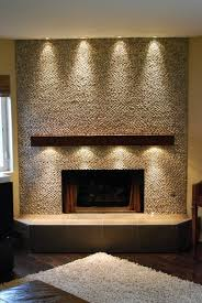 fireplace mantel lighting ideas no so much the mantle lighting