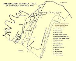 springs washington map washington heritage trail tour county