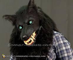werewolf mask spirit halloween coolest homemade wolfman werewolf costumes