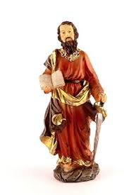 christian statues paul statue 6 inch jesus kart buy christian products online