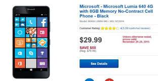 at t black friday black friday deal at u0026t u0027s lumia 640 for just 29 99