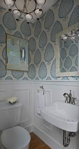 powder rooms with wallpaper powder room with wainscoting transitional bathroom cloth and kind