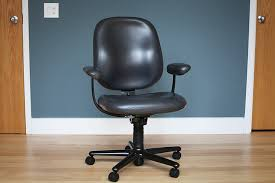 Herman Miller Leather Chair Original Leather Ergon Chair By Herman Miller In Cook County