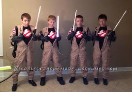Ghostbuster Halloween Costumes Homemade Ghost Busters Group Halloween Costume