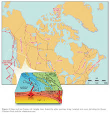 Washington State Earthquake Map by Canada U0027s Earthquakes U0027the Good The Bad And The Ugly U0027 Cassidy