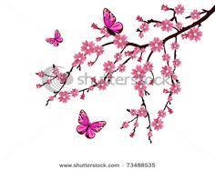 negative space mens cherry blossom tree leg tattoos tatoo ideas