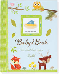 baby book baby s book the five years woodland friends pauper