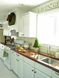 Country Kitchens With White Cabinets by Kitchen Off White Country Kitchens Table Linens Microwaves Off