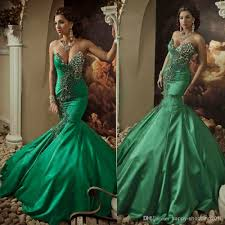 green wedding dresses 2014 green wedding gown mermaid sweetheart lace up back sweep