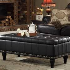 Coffee Table Storage Ottoman Affordable Black Leather Ottoman Coffee Table Design Inspiration