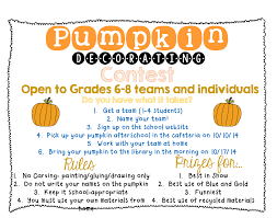 How to Plan a Pumpkin Decorating Contest