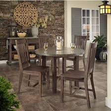 Chic Dining Tables Home Furnishings Concrete Chic 5 Pc Dining Set Or Buy Individual