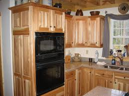 Rustic Hickory Kitchen Cabinets by Natural Rustic Hickory Kitchen Set Featuring A Rio Door Style