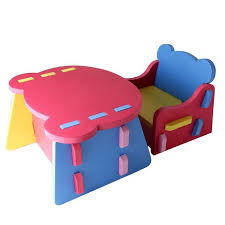Folding Childrens Table And Chairs Children S Furniture Diy Joining Together Baby Dining Table Baby
